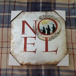 Noel Kings canvas holiday art/picture. NEW